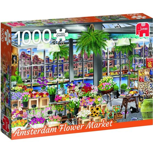 Jumbo Premium Collection Puzzle Amsterdam Flower Market