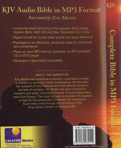 Eric Martin Bible-KJV (DVD-ROM): 9781930034112 | Books | Buy online