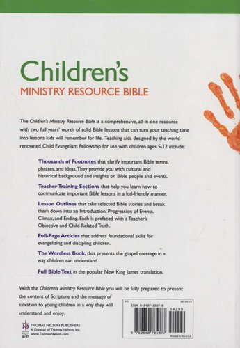 Children's Ministry Resource Bible - New King James Version