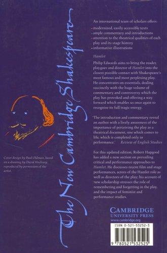 hamlet new cambridge  The New Cambridge Shakespeare - Hamlet, Prince of Denmark (Paperback ...