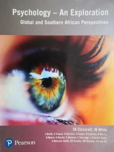 Psychology An Exploration Global And Southern African