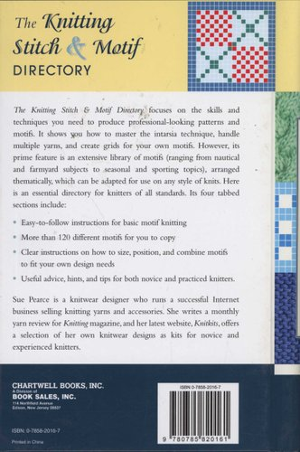 The Knitting Stitch Motif Directory Hardcover Illustrated