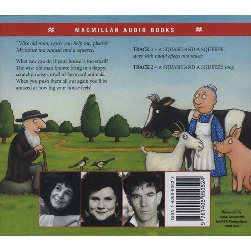 A Squash And A Squeeze (CD, Unabridged edition): Julia Donaldson