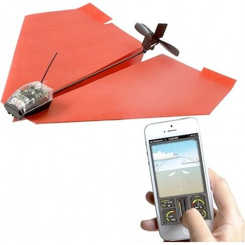 powerup 3 0 smartphone controlled paper airplane kit electronics