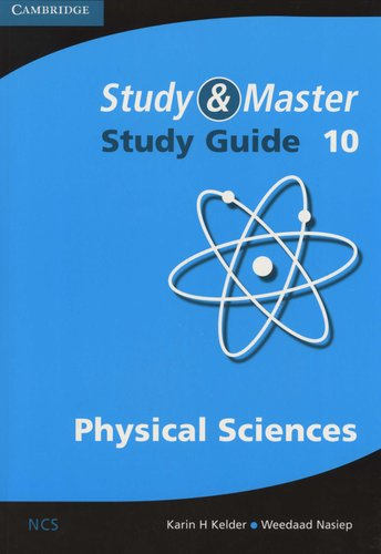 Study and Master Physical Sciences Grade 10 Study Guide, Grade 10