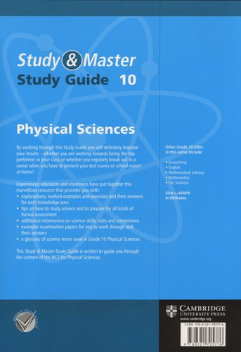 Study and Master Physical Sciences Grade 10 Study Guide