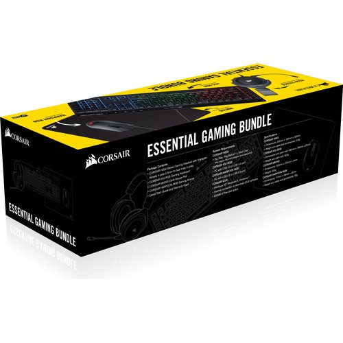 Corsair Essential HS50 Stereo Headset, K55 RGB Keyboard