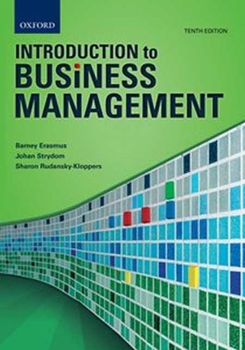 introduction to business management paperback 10th edition b