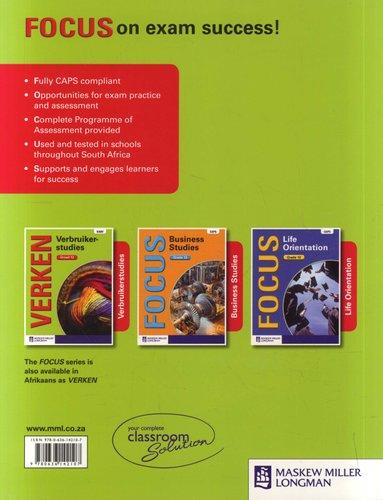 Focus Consumer Studies: Grade 12: Learner's Book - CAPS compliant