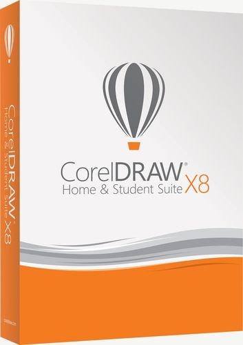 Corel CorelDRAW Home & Student Suite X8 Graphic Design Software