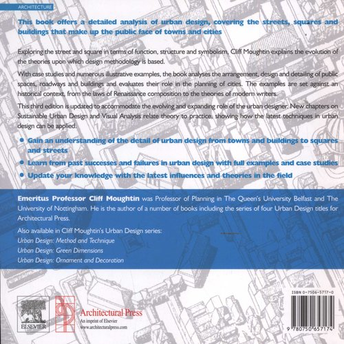 Urban Design: Street and Square (Paperback, 3rd New edition