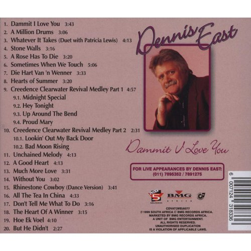Dennis East - Dammit I Love You (CD)