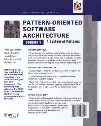 Pattern-Oriented Software Architecture - System of Patterns
