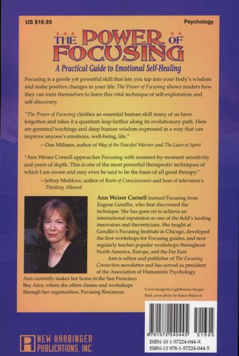 The Power Of Focusing - Finding Your Inner Voice (Paperback