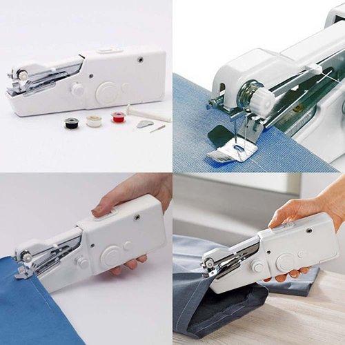 Amazing Frog Portable Mini Handheld Sewing Machine ...
