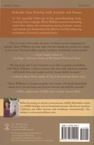 Beyond Words Communicating Wtih Animals And Nature Paperback