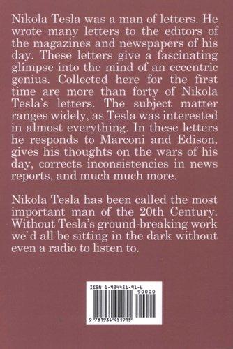 More Books by Nikola Tesla