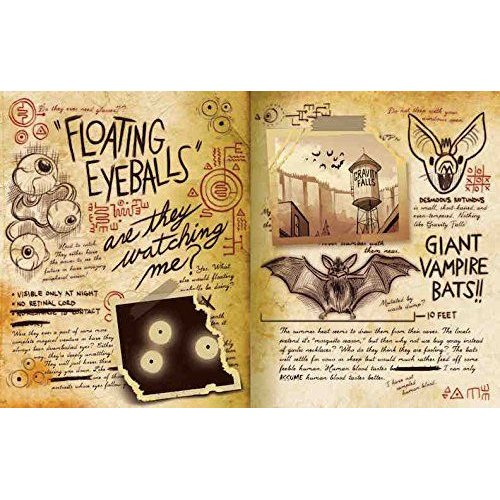 Disney Gravity Falls: Journal 3 (Hardcover): Alex Hirsch, Rob