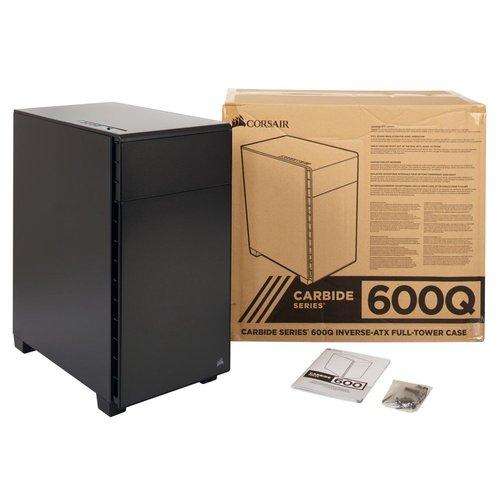 sale retailer abb13 f3bf4 Corsair Carbide 600Q Silent ATX Full-Tower Case (Black) | Computers ...