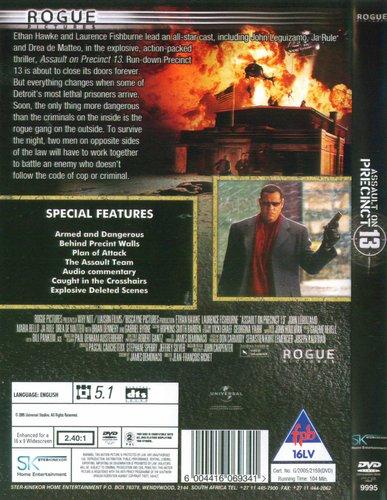 Assault On Precinct 13 (DVD): Ethan Hawke, Laurence Fishburne