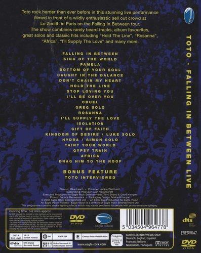 Toto - Falling In Between - Live (DVD) | Music | Buy online