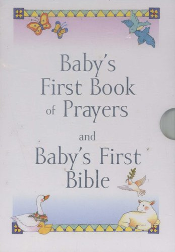 Babys First Book Of Prayers And Babys First Bible Hardcover