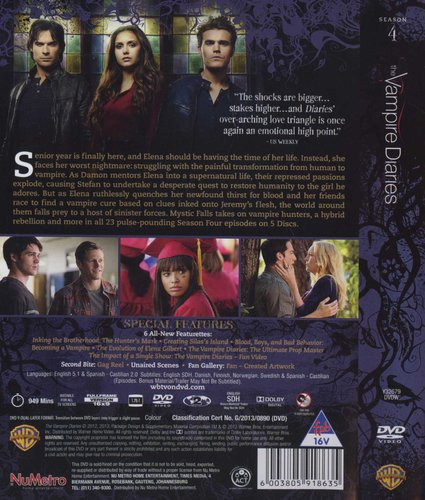 The Vampire Diaries - Season 4 (DVD, Boxed set): Nina Dobrev
