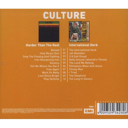 Culture - Harder Than The Rest / International Herb (CD