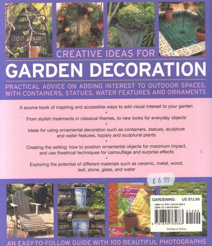 Creative Ideas For Garden Decoration Paperback Jenny Hendy