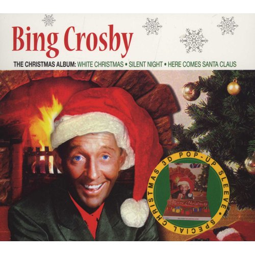 Bing Crosby Christmas.Bing Crosby Christmas Album 3d Pop Ups Cd Music Buy