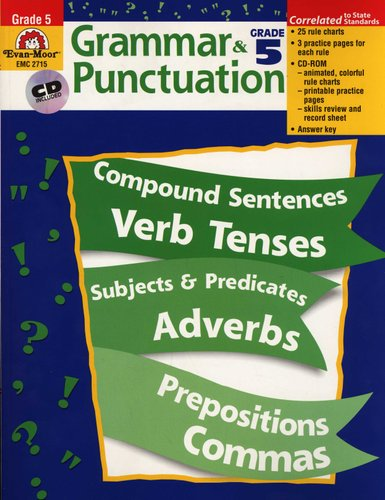 Grammar & Punctuation, Grade 5 - Grade 5 (Paperback, Teacher