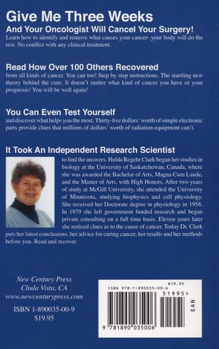 The Cure For All Cancers - Including Over 100 Case Histories of