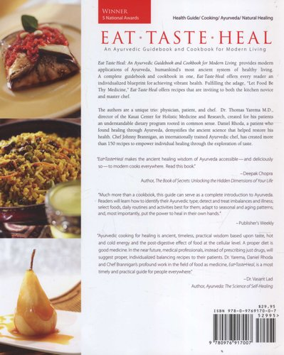 Eat, Taste, Heal - An Ayurevdic Cookbook for Modern Living