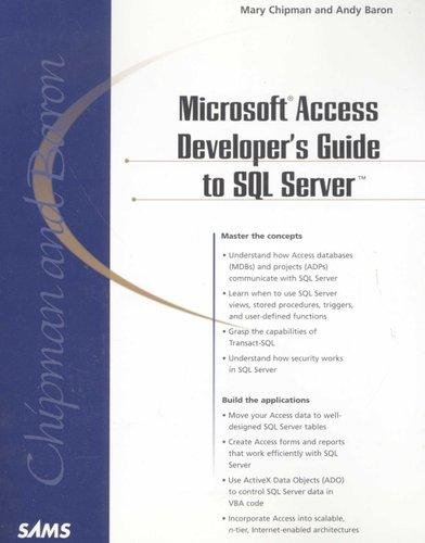 Microsoft Access Developer's Guide to SQL Server (Paperback