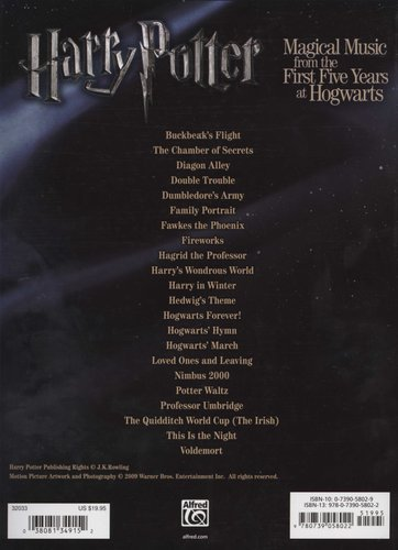 Harry Potter Musical Magic -- The First Five Years - Music