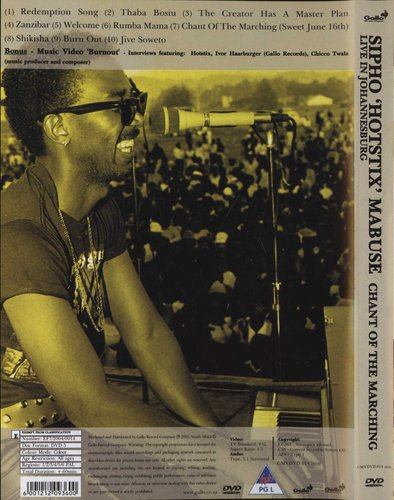Sipho 'Hotstix' Mabuse - Chant Of The Marching - Live In