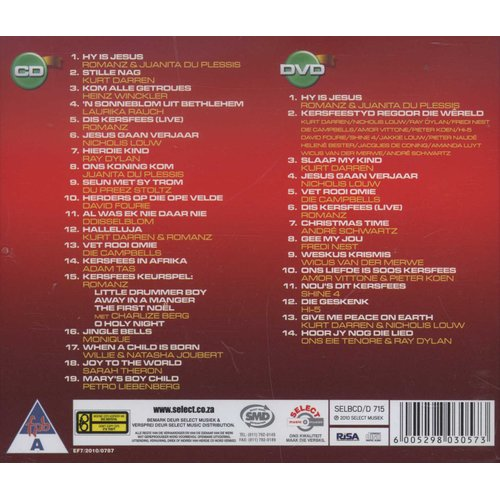 Kyknet Jukebox Kersfees Cd/dvd (CD): Various Artists | Music