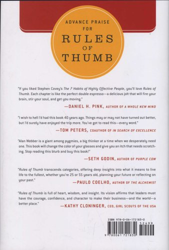 Rules of thumb review webber