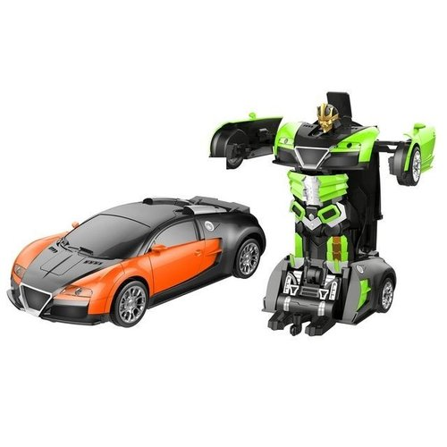 Funny Box Remote Control Turbo Autobots Transforming Car Supplied