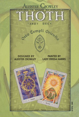 Aleister Crowley Thoth Tarot Deck (Cards): 9780913866153