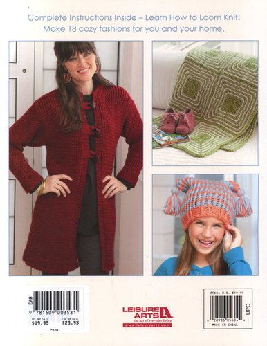 Big Book Of Loom Knitting Learn To Loom Knit Paperback Kathy