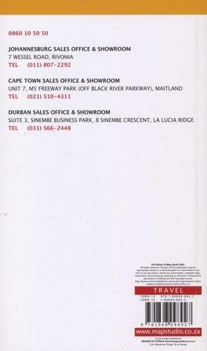 Kwazulu-Natal Road Atlas (Paperback, 3rd Revised edition): Map