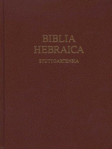 Biblia Hebraica Stuttgartensia (Hardcover, 5th): Karl