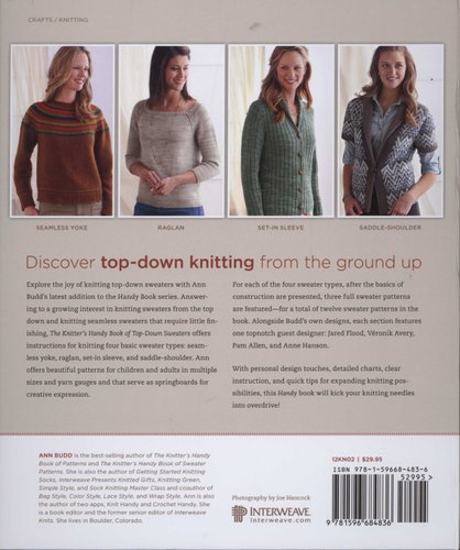 7ca89e78e The Knitter s Handy Book of Top-Down Sweaters - Basic Designs in ...