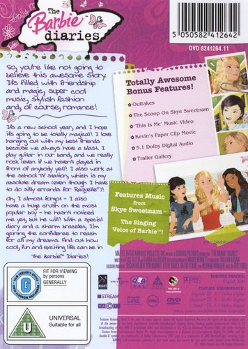 The Barbie Diaries (DVD) | Movies & TV | Buy online in South