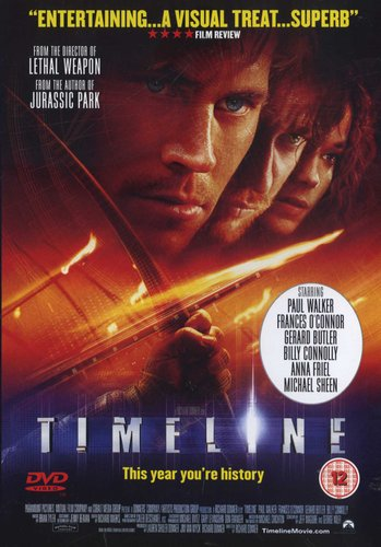 Timeline Dvd Paul Walker Gerard Butler Billy Connolly Movies