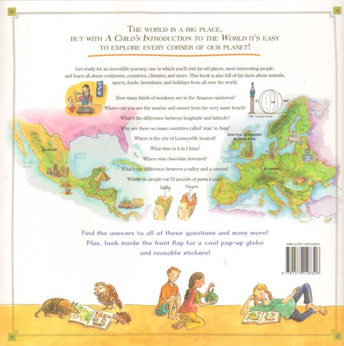 Geography A Childs Introduction to the World and People--From the Grand Canyon to the Great Wall of China Cultures