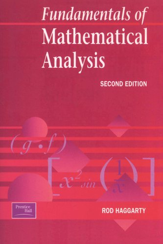 Fundamentals of Mathematical Analysis (Paperback, 2nd Revised