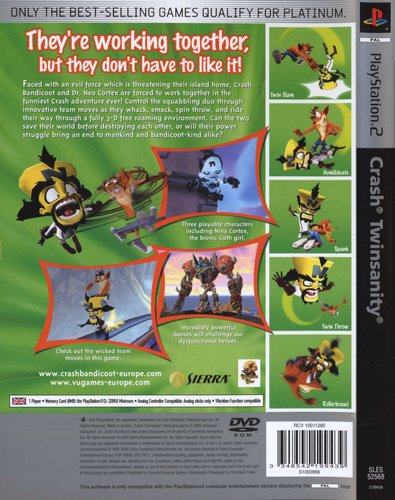 Crash Twinsanity (PlayStation 2, DVD-ROM) | Games | Buy online in