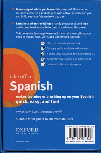 Oxford Take Off in Spanish (Paperback, 3rd Revised edition): Oxford